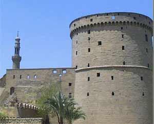 Знаменитая цитадель в Каире, построенная Саладином