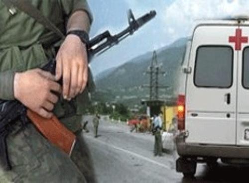 Ранен полицейский при обстреле в Дагестане