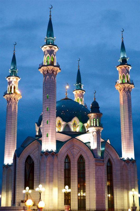 "Схема вышивки  ""Мечеть Кул Шариф "": таблица цветов."
