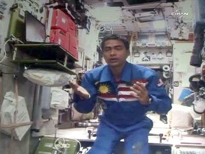 намаз в космосе