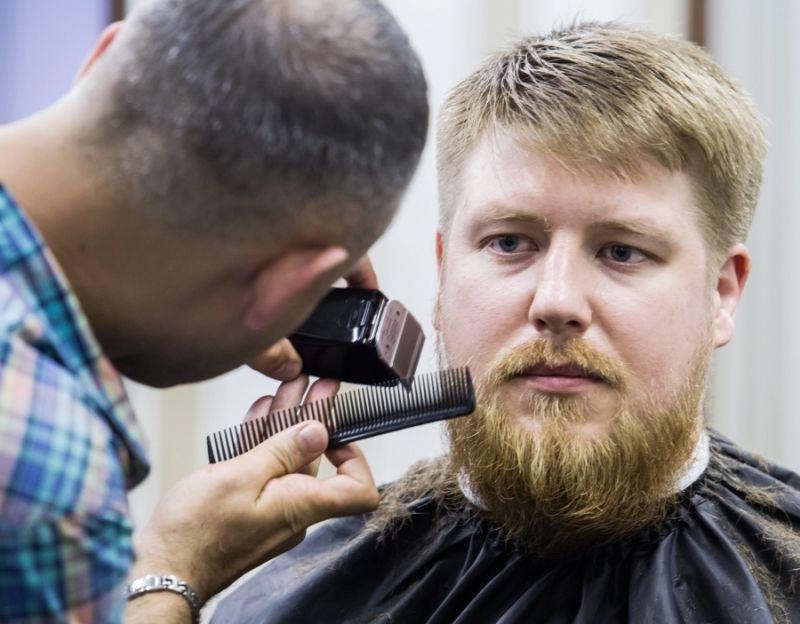 Здоровый бородатый мужик гей